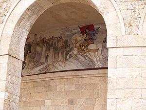 Skanderbeg Museum - Image: Kruje Albania (3940022678)
