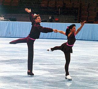 Todd Sand American pair skater