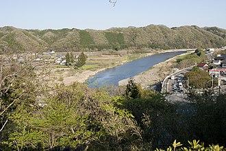 Kuji River - Kuji River in Hitachiomiya (April 2017)