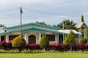 Kunak District - Image: Kunak Sabah Catholic Church St Peter 02