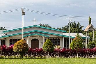 Kunak District - Image: Kunak Sabah Catholic Church St Peter 02