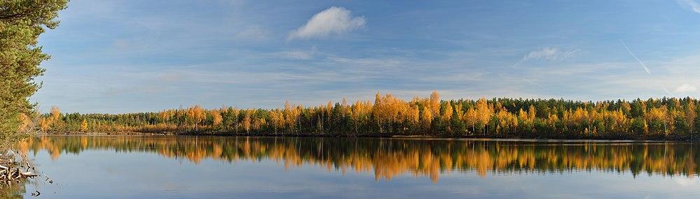 Lake Kurtna Mustjärv