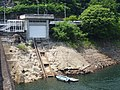 Kusaki Dam boathouse.jpg