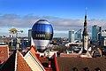 Kuumaõhupall esmakordselt Tallinna Raekoja platsilt 2019.jpg