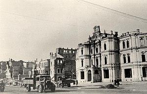 Maidan Nezalezhnosti - Image: Kyiv city duma 1941