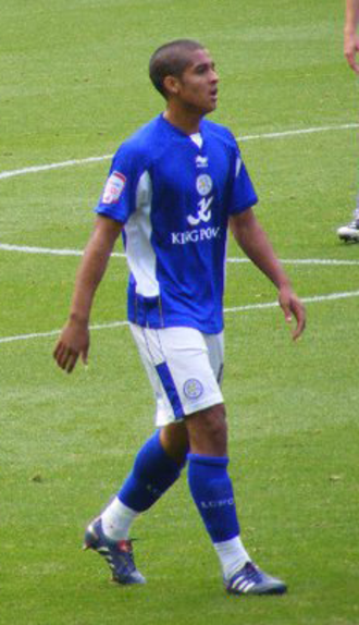 Kyle Naughton - Naughton playing for Leicester City in 2011