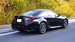 LEXUS RC300h F SPORT Japan 2014 Rear.JPG