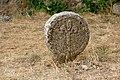 La Couvertoirade (Aveyron) basque stele in the cemetery (20121694075).jpg
