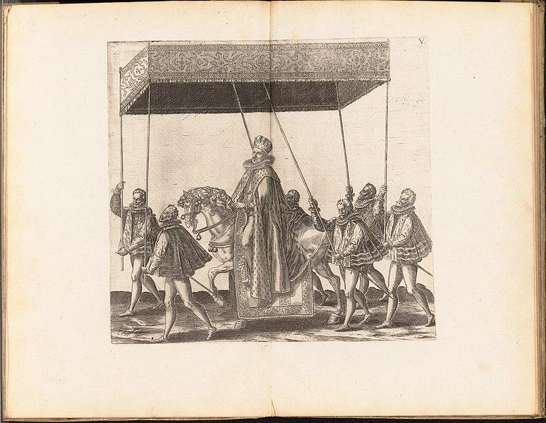 File:La Joyeuse & magnifique Entrée de Monseigneur François, Fils de France, et Frere Unique du Roy,..., Duc de Brabant, ... en sa tres-renommé ville d' Anvers MET DP153102.jpg