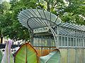 La station art nouveau de la porte Dauphine (Hector Guimard) (2590158427).jpg