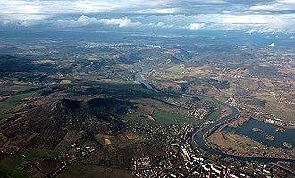 Ústí nad Labem Region - Image: Labe u Lovosic