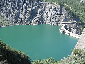 Lac de Monteynard-Avignonet - Lake and dam