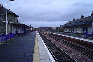 Ladybank railway station