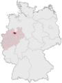 Lage des Kreises Warendorf in Deutschland 31 12 1974.png