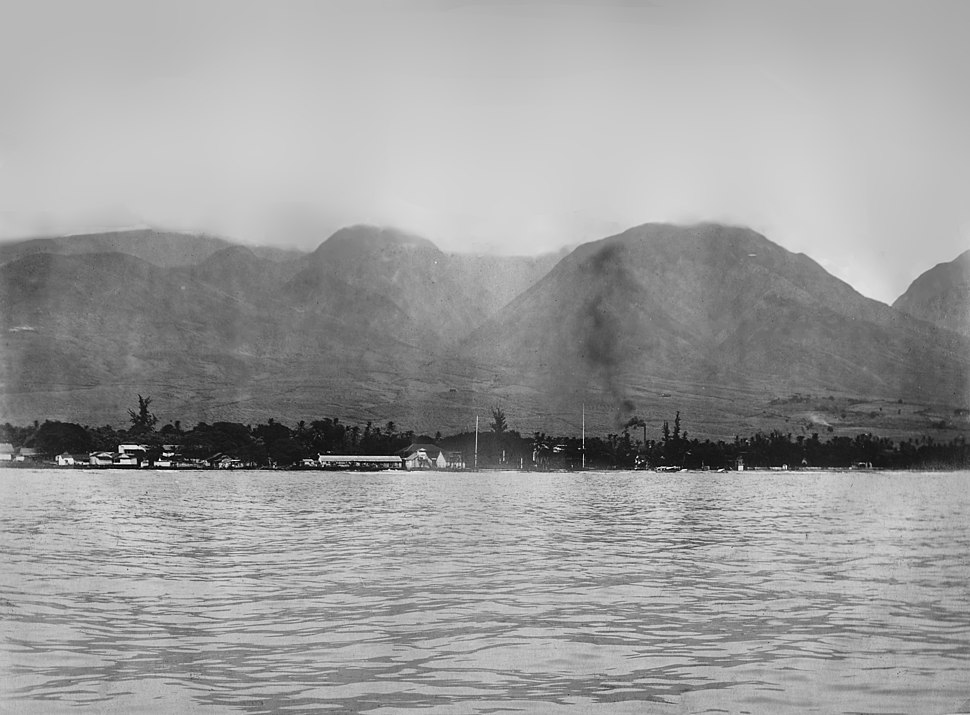 Lahaina, Maui, T.H. - Formerly the Capital - NARA - 296063