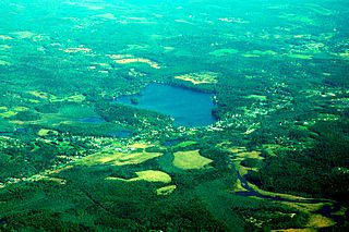 Lake Lashaway lake of the United States of America