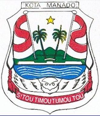 Manado - Image: Lambang kota manado