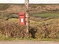 Langton Matravers, postbox No. BH19 191, Valley Road - geograph.org.uk - 1718503.jpg