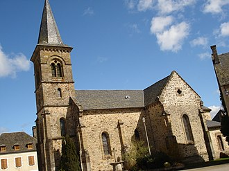 Lapleau - The church in Lapleau