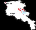 Larus armenicus range map in Armenia (Armenian).png