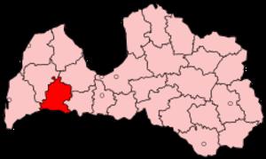 Saldus District - Image: Latvia Saldus