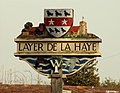 Layer de la Haye village sign, Essex - geograph.org.uk - 138137.jpg