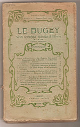 Image illustrative de l'article Le Bugey (société savante)
