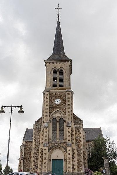 Église Saint-Sulpice du Genest-Saint-Isle.