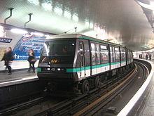 Ligne 1 Du M 233 Tro De Paris Wikip 233 Dia