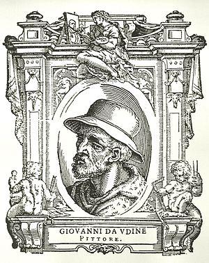 Giovanni da Udine - Portrait in Vasari's Vite
