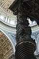 Le colonne del Bernini, Basilica di San Pietro, Vaticano, Roma - panoramio.jpg