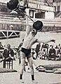 Le français Edmond Decottignies, champion olympique des poids légers en 1924.jpg