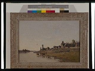Le manoir, bords de la Seine