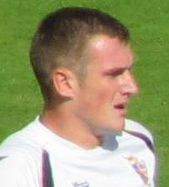 Lee Collins (footballer, born 1988) - Collins playing for Port Vale in 2010