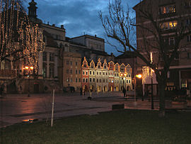 Legnica main square night.jpg