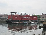 Waterfront Barge Museum from water