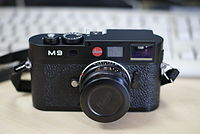 Thin Blue Line: Leica M9