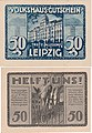 Leipzig - Volkshaus-Gutschein, 50Pf. Farbvariation (4).jpg