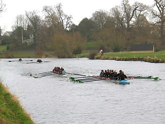 Lent Bumps - Image: Lent Bumps 2005 Day 3