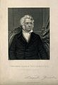 Leopold Gmelin. Line engraving by G. Cook after J. Woelfyle. Wellcome V0002278.jpg