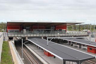 Leppington railway station railway station in Sydney, New South Wales, Australia