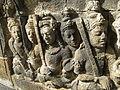 Level 1, Inner Wall Bottom - Borobudur - 103 Divyavadana, North Wall, Panel 76, Rudrayana (detail, left) (8599749874).jpg