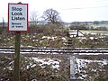 Level crossing near Cranbrook Road Cemetery - geograph.org.uk - 1713726.jpg