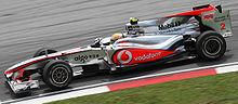 Hamilton al Gran Premio di Malesia conclude in sesta posizione, dopo essere partito 20º in griglia.