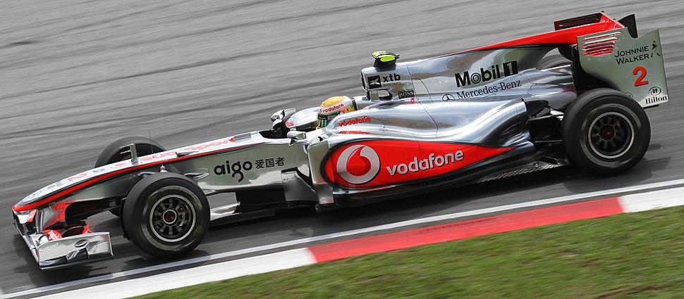 Lewis Hamilton 2010 Malaysia 1st Free Practice