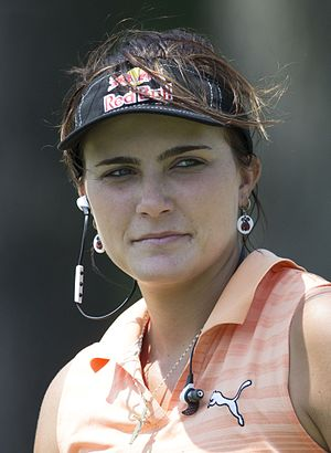 Lexi Thompson - Thompson at the 2015 Kingsmill Championship