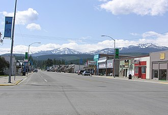 Libby, Montana - Downtown Libby