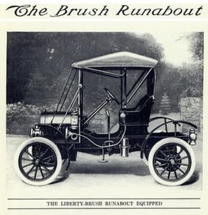 Brush Motor Car Company - 1912 Brush Runabout