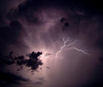 Whaitiri - Thunders and lightnings are signs of goddess Whaitiri