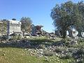 Likya yolu Bogazici gecince ilk antik kent.jpg